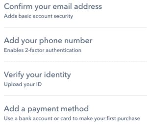 Coinbase Sign Up 3