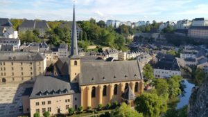 Luxembourg City landscape