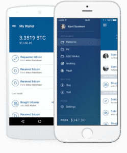 Mobile Wallet Coinbase
