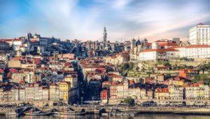 Portuguese city landscape
