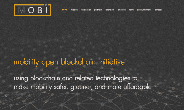BMW, GM, Ford and Renault Invest in Blockchain Technology – MOBI