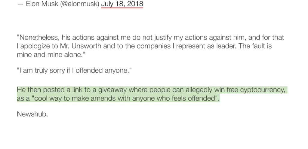 Error Newshub Crypto Elon Musk