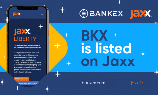 BKXs Tokens are now Live in Jaxx Liberty