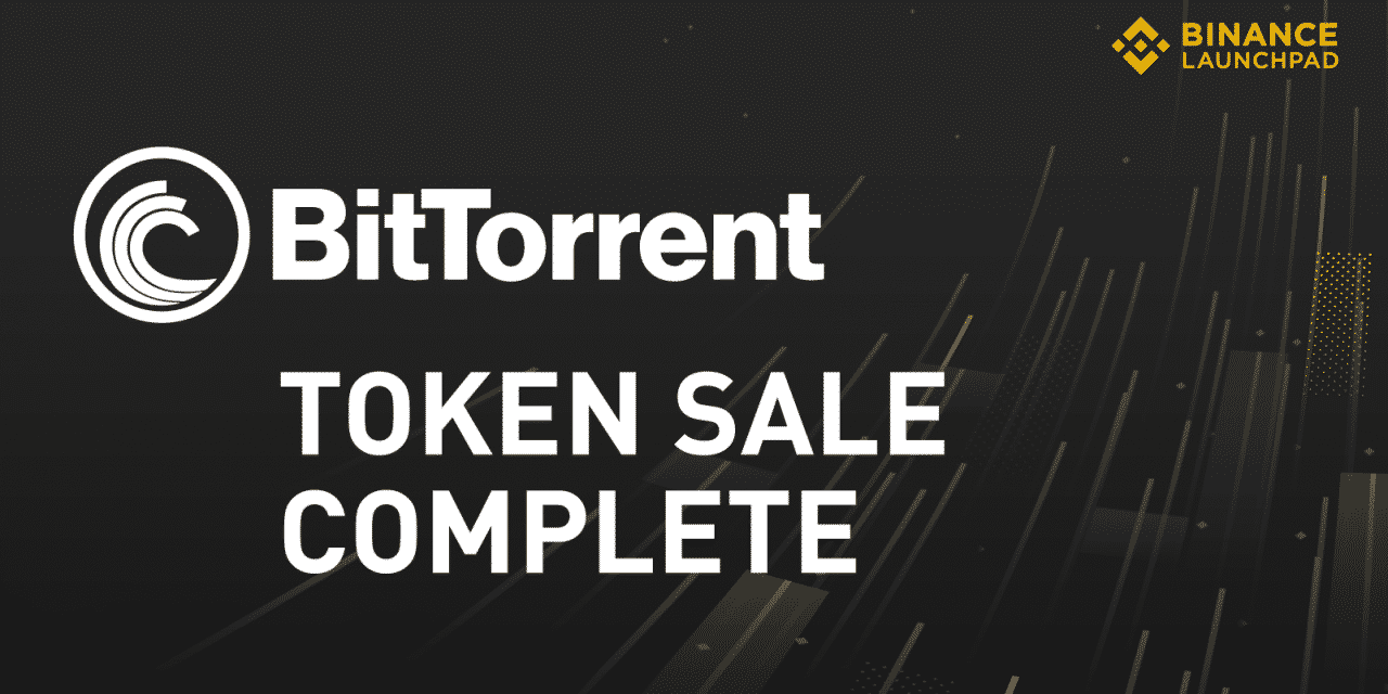 BitTorrent Token Sale Completed In 14 Minutes on Binance's Platform