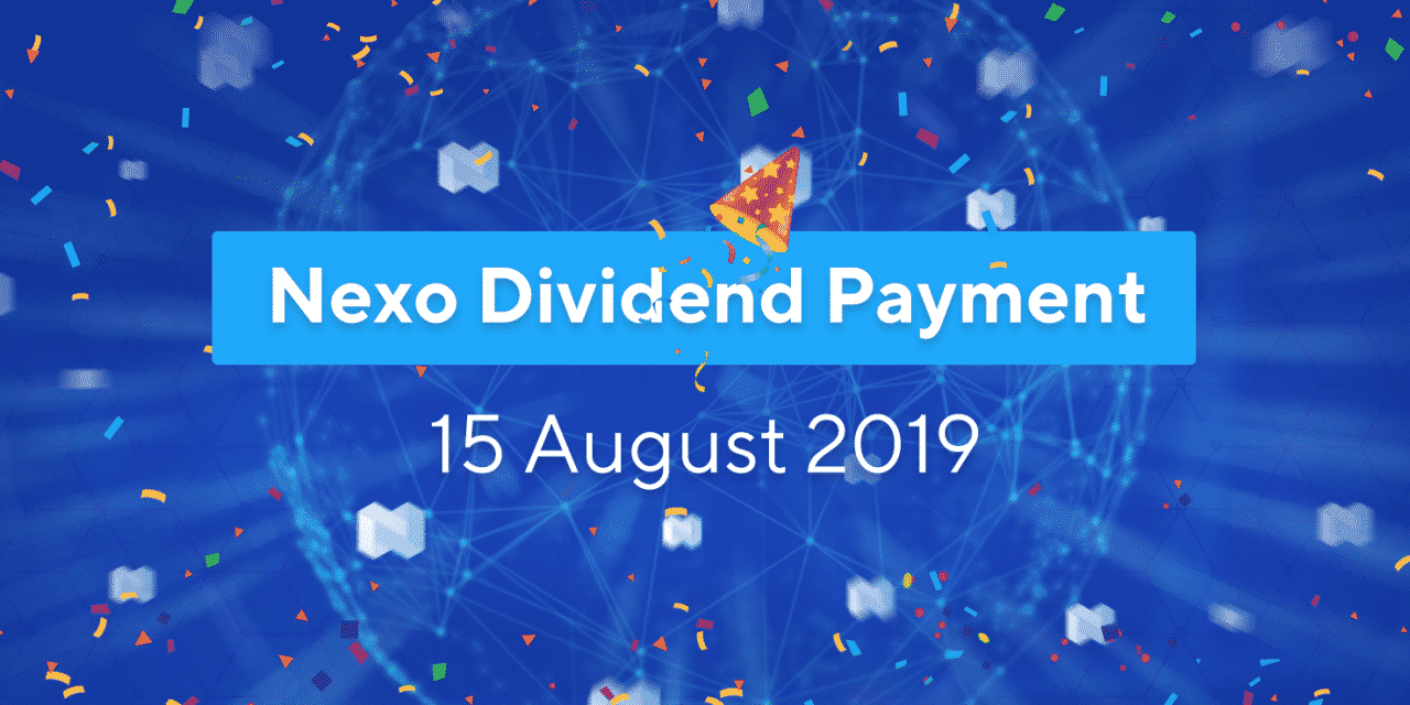 NEXO Token Holders Receive US$2,409,574.87 in Dividends