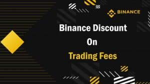 Binance discount on trading fees